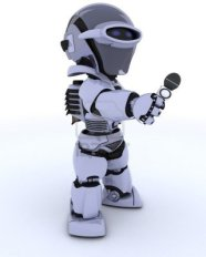 13175340-3d-rendering-di-un-robot-giornalista-con-un-microfono