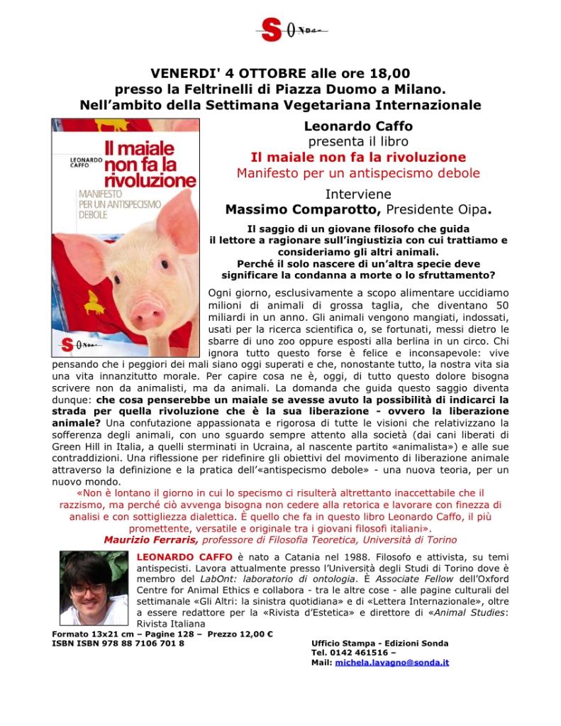 Comunicato_Maiale non fa Rivoluzione Milano 04102013